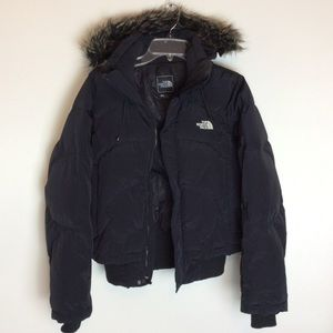 North Face Hooded Goose Down Puffer Jacket